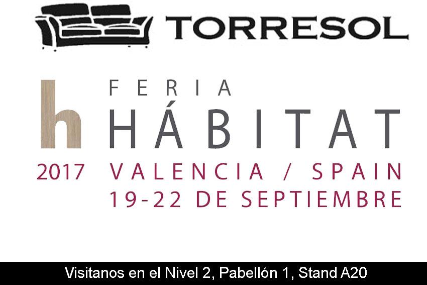 Torresol en la Feria Habitat 2017 Valencia.