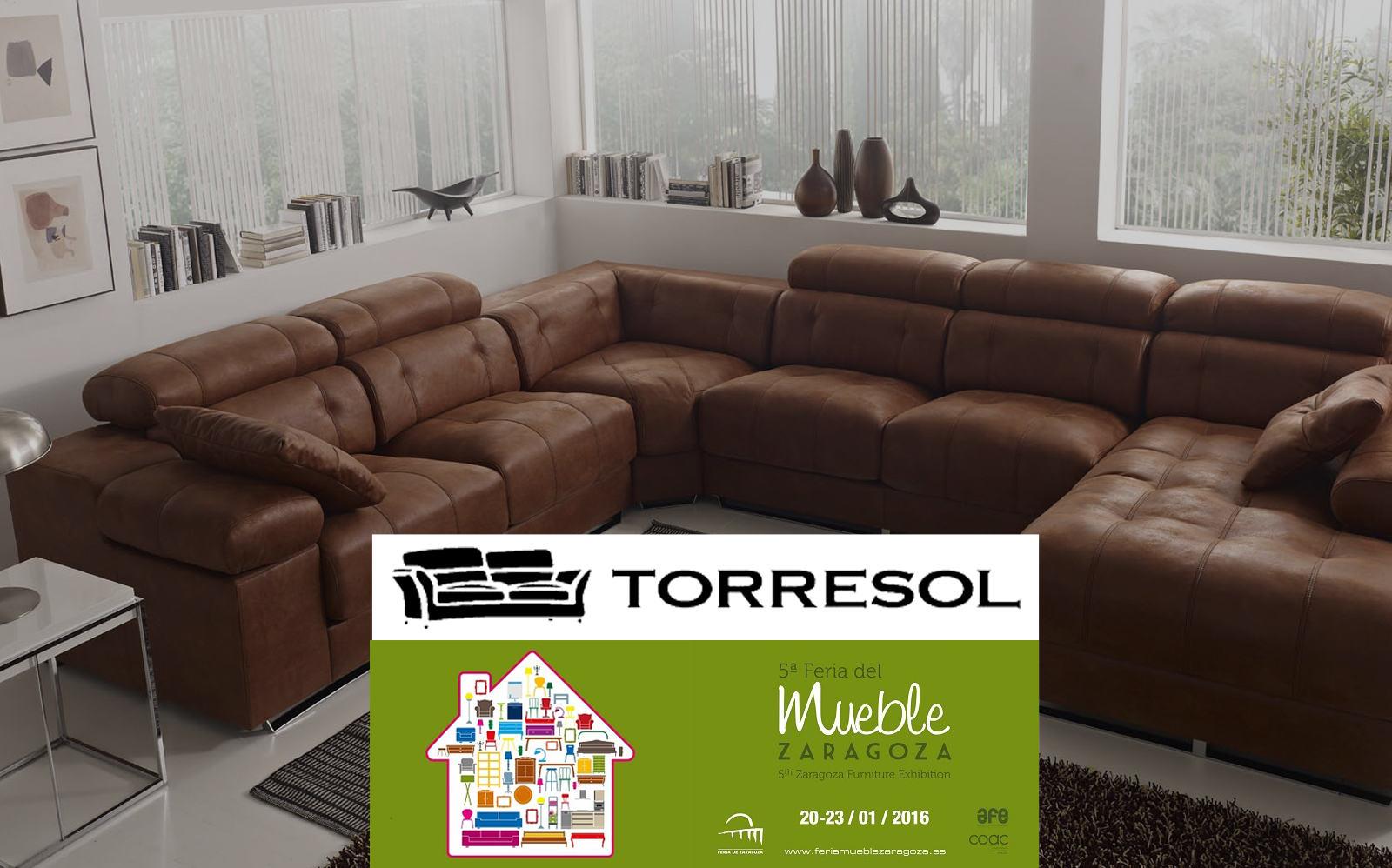 TORRESOL estará presente en la Feria del Mueble de Zaragoza 2016 .