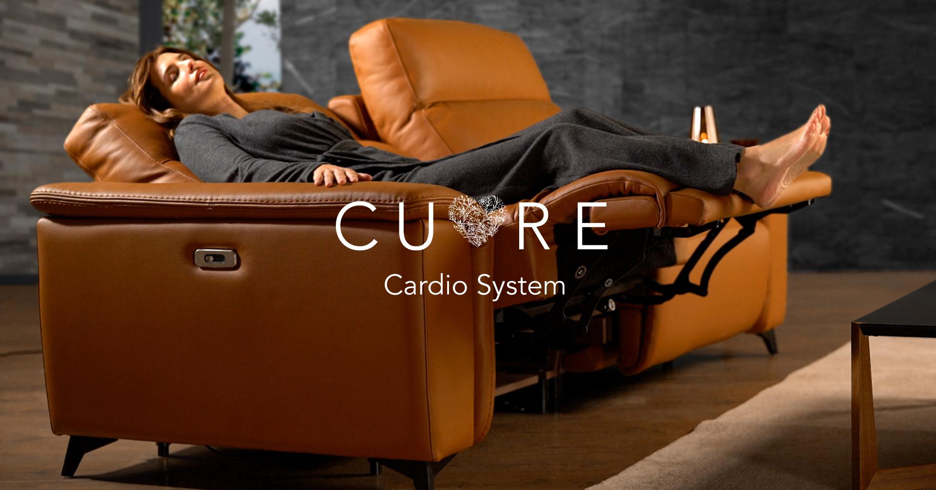 Cuida de tu salud con el sofá Cuore Cardio System.